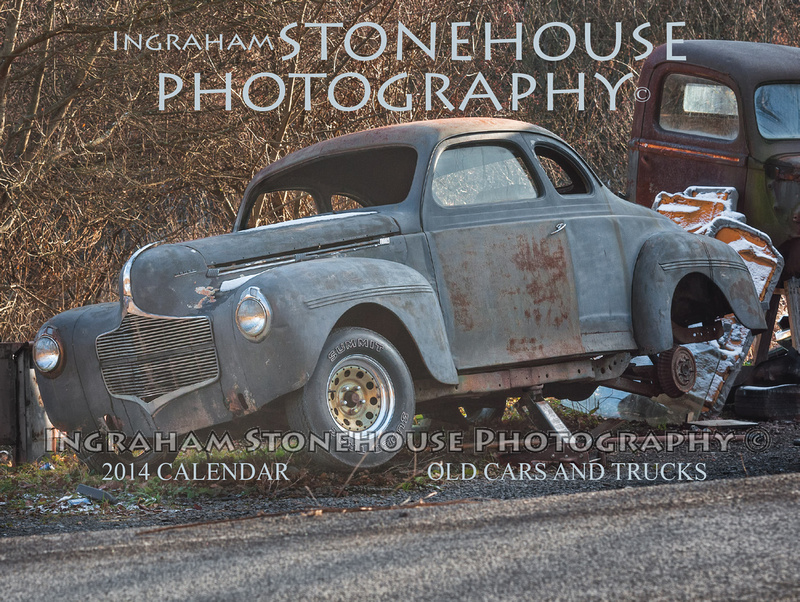 Ingraham Stonehouse Photography | Old Cars and Trucks Calendar