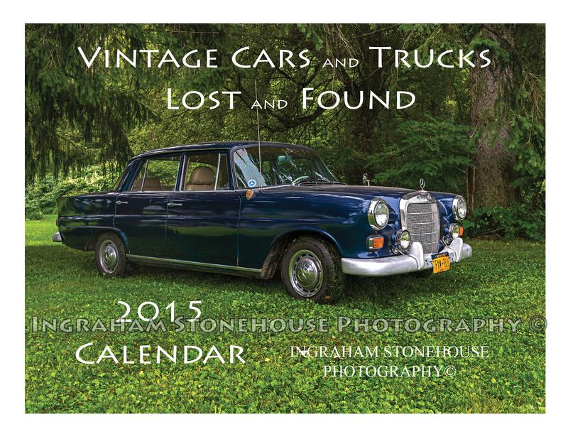 Ingraham Stonehouse Photography | 2015 Vintage Car/Truck Calendar